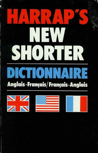 9780245539268: Harrap's Shorter French-English, English-French Dictionary