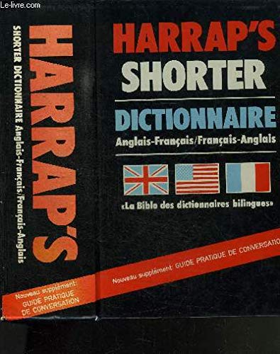 9780245545030: Harrap's Shorter French-English, English-French Dictionary