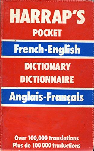 9780245545085: Harrap's Pocket French-English, English-French Dictionary