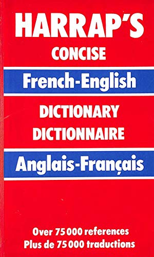 9780245545894: Harrap's Concise French and English Dictionary