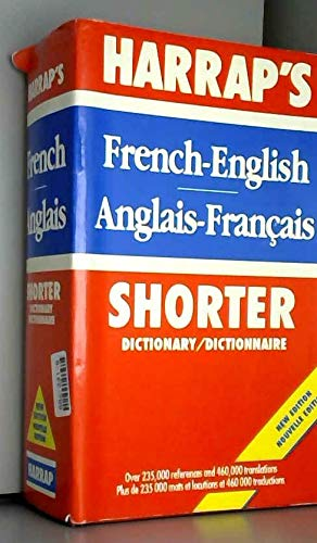 9780245550461: Harrap's Shorter French-English, English-French Dictionary