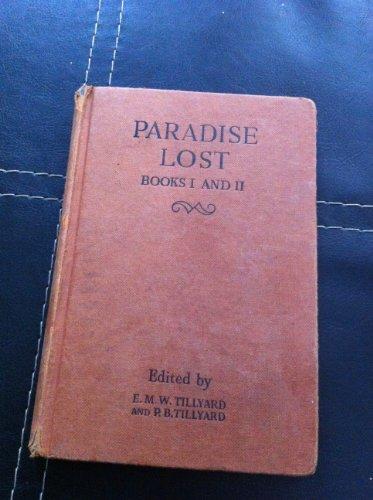 9780245558825: Paradise Lost: Bk. 1 & 2 (English Classics)