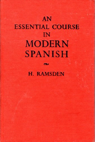 9780245559303: Essential Course in Modern Spanish