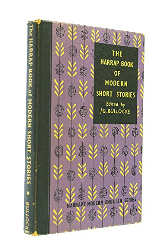 9780245563980: The Harrap Book of Modern Short Stories (Mod. Eng. S)