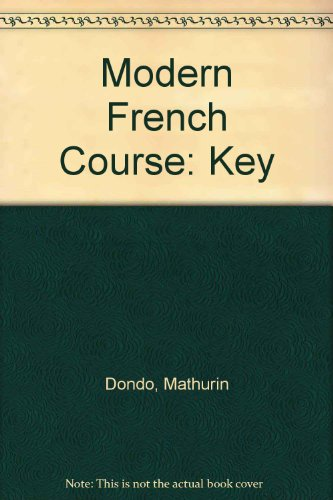 9780245568633: Modern French Course: Key
