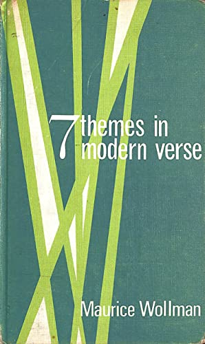 9780245592980: Seven Themes in Modern Verse (New Outlook)