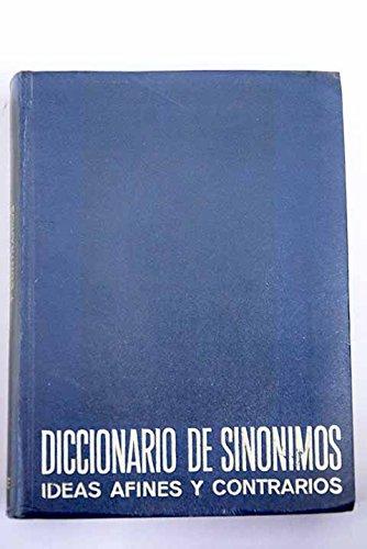9780245594557: Pequeno Diccionario de Sinonimos, Ideas Afines y Contrarios