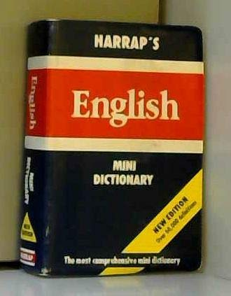 Harrap's English Mini Dictionary: Collin, P. H.