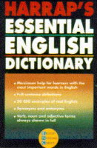 9780245605611: Harrap's Essential English Dictionary