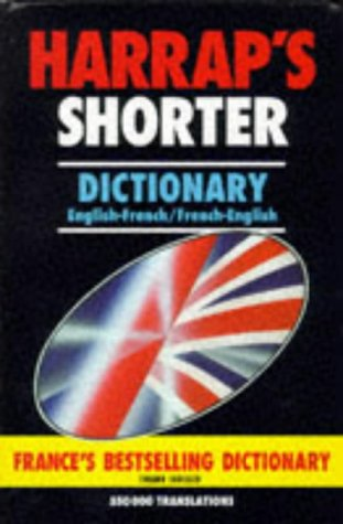 9780245605727: Harrap's Shorter French-English, English-French Dictionary
