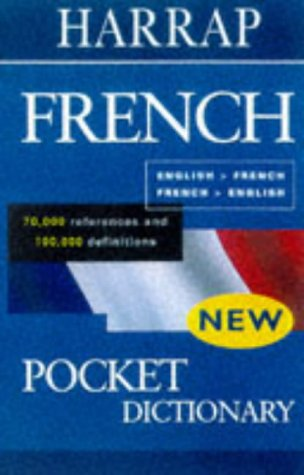 9780245605758: Harrap's Pocket French-English Dictionary: Dictionnaire Francais-Anglai