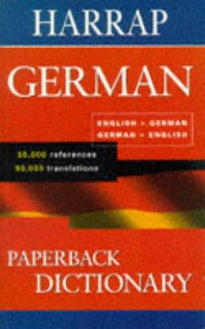 9780245606281: Harrap's Paperback German Dictionary