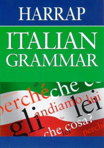 9780245606472: Harrap Italian Grammar (Harrap Italian study aids)
