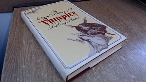 9780246105448: Natural History of the Vampire