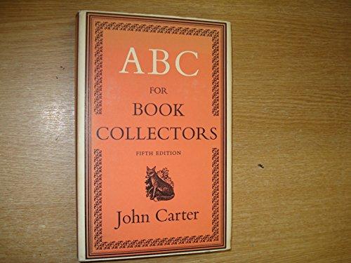 ABC FOR BOOK COLLECTORS EPUB