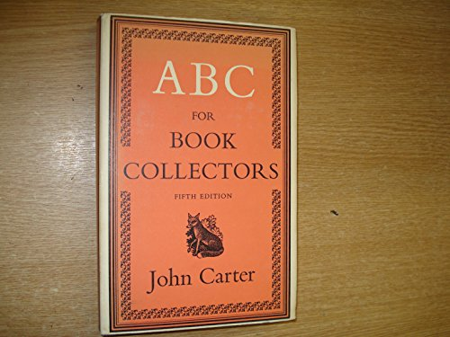 9780246105714: ABC for Book Collectors