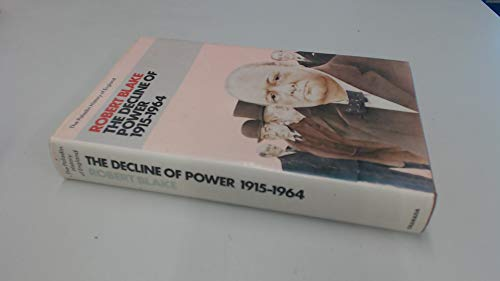 THE DECLINE OF POWER 1915-1964