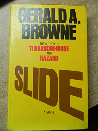 Slide (9780246109736) by Gerald A. Browne