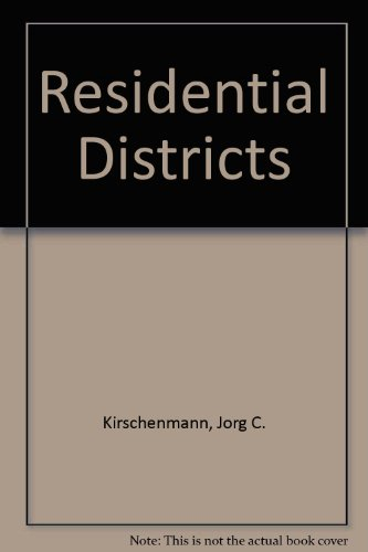 9780246111845: Residential Districts
