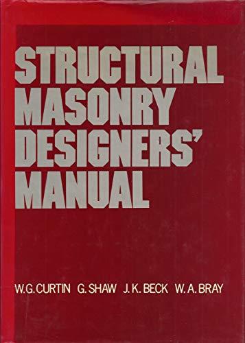 9780246112088: Structural Masonry Designer's Manual