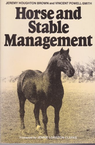 9780246112170: Horse and Stable Management