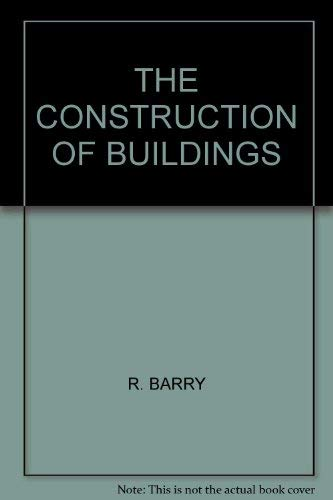 9780246112613: The construction of buildings