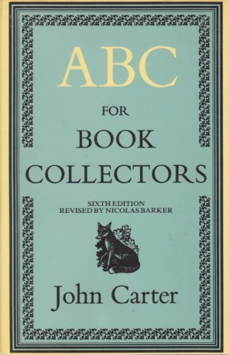9780246113528: ABC for Book Collectors
