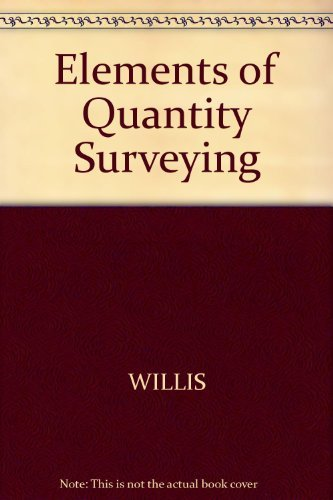 9780246114716: Elements of Quantity Surveying