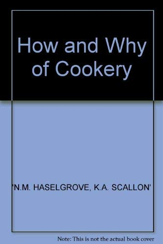 9780246114976: How and Why of Cookery