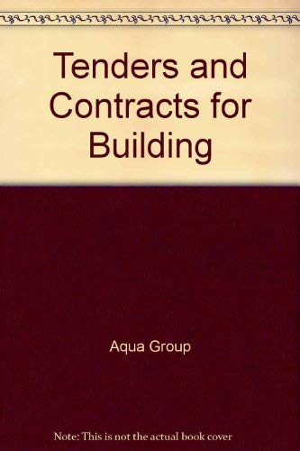 9780246118387: Tenders and Contracts for Building