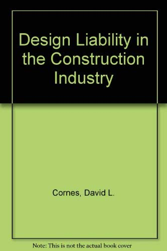 9780246118653: Design Liability in the Construction Industry
