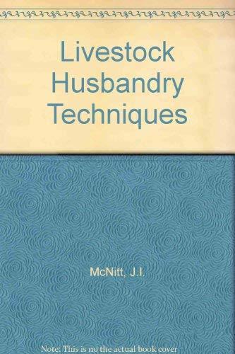9780246118714: Livestock Husbandry Techniques