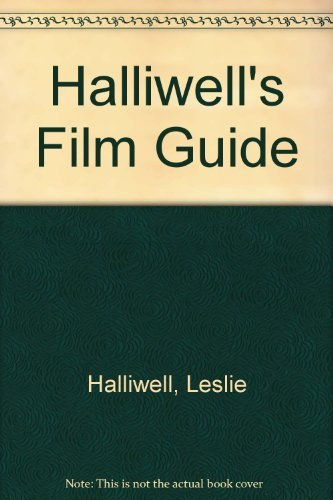 Halliwell's Film Guide (0246120649) by Leslie Halliwell
