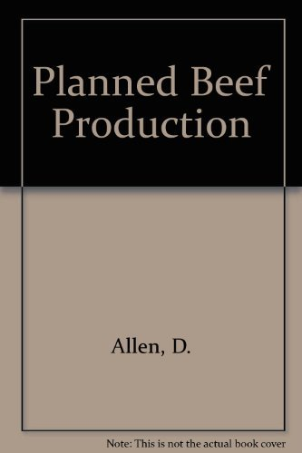 9780246121943: Planned Beef Production