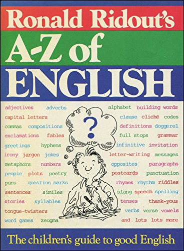 A. to Z. of English: Ridout, Ronald