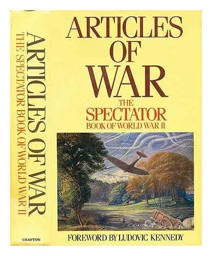 "Articles of War: ""Spectator"" Book of World: Philip Marsden-Smedley, Fiona"