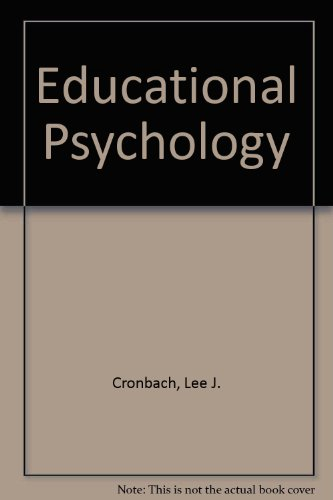 9780246638687: Educational Psychology