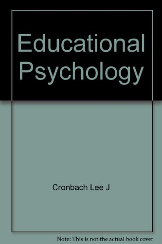 9780246639714: Educational Psychology