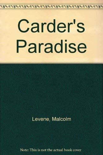 9780246974549: Carder's Paradise