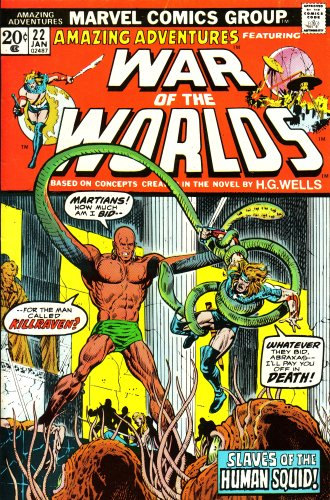 Amazing Adventures: Featuring War of the Worlds,: Stan Lee; Don