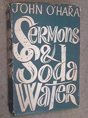 Sermons and soda water (9780248983907) by O'HARA, John