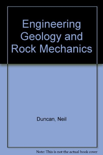9780249440836: Engineering Geology and Rock Mechanics: v. 2