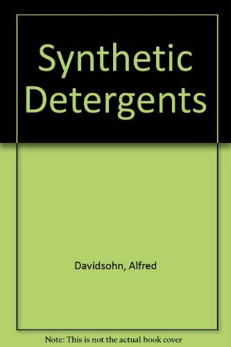 9780249441062: Synthetic Detergents