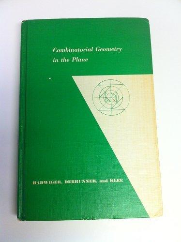 9780249790115: Combinatorial Geometry in the Plane