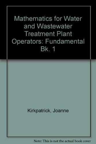 Mathematics for Water & Wastewater Treatment Plant: Price, Joanne K.