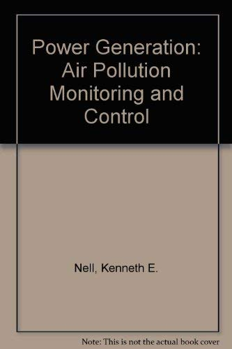 9780250401185: Power Generation: Air Pollution Monitoring and Control