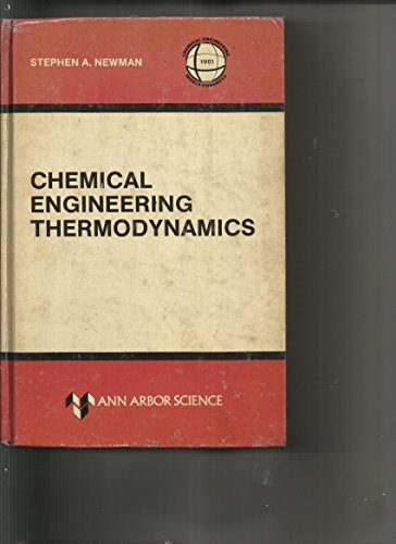 9780250405206: Chemical Engineering Thermodynamics