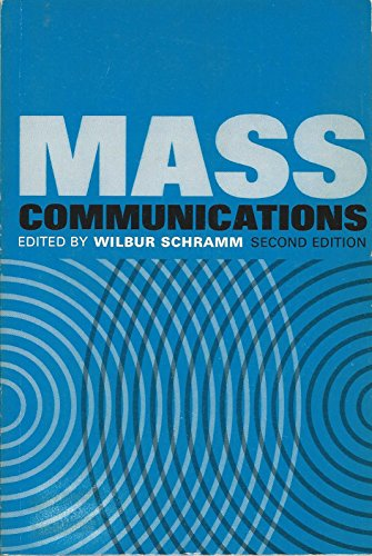 MASS COMMUNICATIONS: A Book of Readings