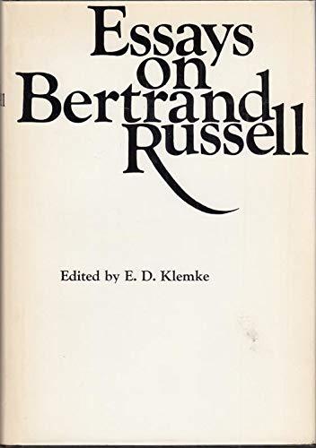 Essays on Bertrand Russell.: KLEMKE, E. D. (ed.):