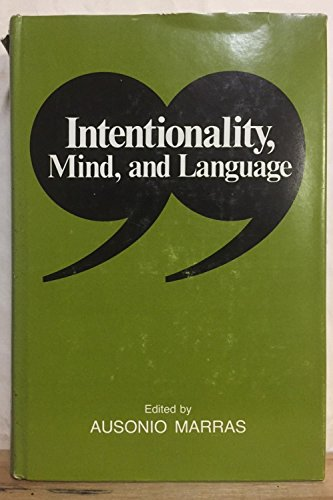 9780252002113: Intentionality, Mind and Language